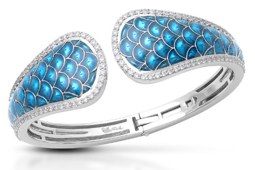 Belle Étoile Launches Fall 2018 Collection Belle Étoile_Marina Sea Blue Bangle-55