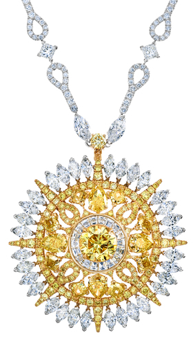 De Beers Jewellers Unveils New High Jewelry Collection: Diamond Legends De Beers Ra Necklace-98