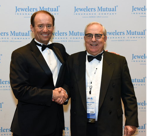 Meredith Thomas recognized by Jewelers Mutual MerdithThomas-13