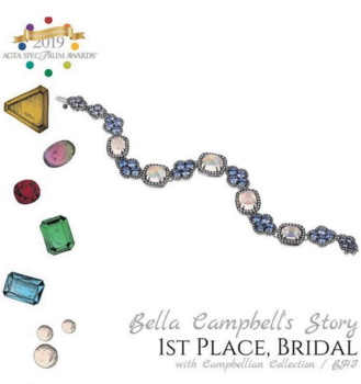 Bella Campbell Wins 8th AGTA Spectrum Award