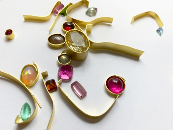 Bezel Settings for Faceted Stones Workshop, Jewelry Show and more classes announced from Jewelry Arts Inc
