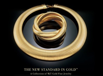 Big Bold Gold Jewelry Is Back In Style