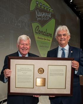 Doug Hucker Awarded the Shipley Award by AGS