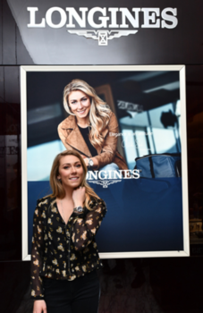 Mikaela Shiffrin Joins Longines in NY To Present the Conquest Chronograph by Mikaela Shiffrin Timepiece