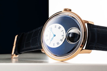 Arnold & Son debuts Luna Magna, worlds largest 3-D moon phase timepiece, during Watches and Wonders