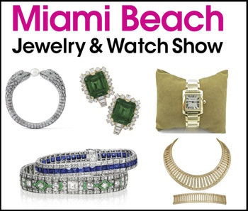 MIAMI BEACH JEWELRY & WATCH SHOW ANNOUNCES VENUE  CHANGE FOR 2018 SHOW DATES