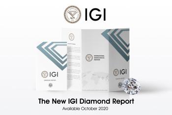 IGI Unveils New Grading Report Design