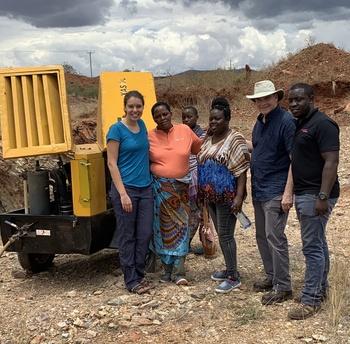 Gem Legacy Delivers Compressor to Precious Women Mine