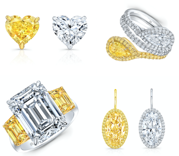 Perfect Pair Opposites Attract in Rahaminov Diamonds' new collection