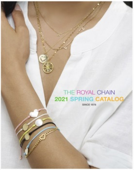 Royal Chain's Spring '21 Collection Is A Fresh Colorful Take On Gold
