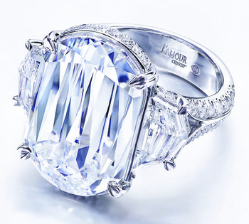 Christopher Designs L'Amour Crisscut Classic Wins 1st Place in Platinum Jewelry Category