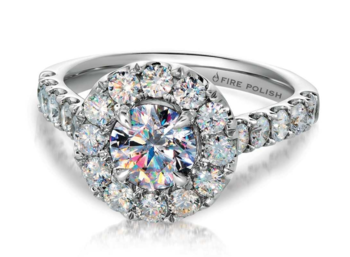 "Luxury Diamond Brand ""Fire Polish� Expands Engagement Line"