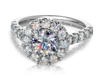 "Luxury Diamond Brand ""Fire Polish� Expands Engagement Line"