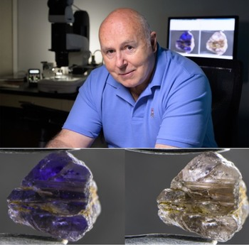 New Mineral Named for Famed Gemologist John Koivula  Johnkoivulaite, discovered in Myanmar, is a member of the Beryl family