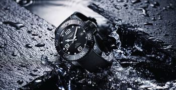 New All-Black Longines HydroConquest Ceramic Launches in the U.S. at COUTUREtime