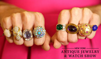 New York Antique Jewelry and Watch Show Adds Curated Antiques Vendors