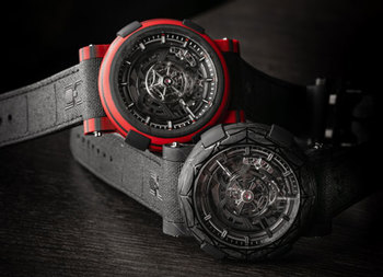 Join RJ into the webbed world of Spider-Man with the new ARRAW Spider-Man Limited-Edition Timepieces