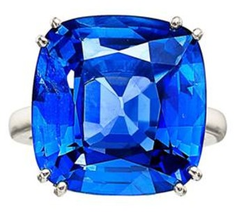 Spectacular Sapphire Ring Leads Heritage's Fine Jewelry Auction Beyond 3.6 Million