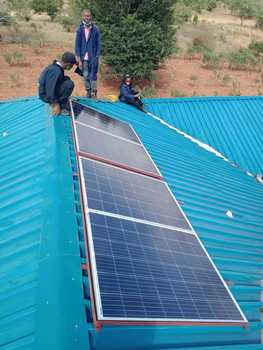 Gem Legacy completes initiative and installs solar panels at children's home