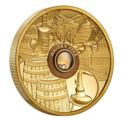 Lux Coin unveils the worlds first Whisky Coin whiskey coin-67